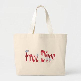 FREE DIVE-Dive for Divers Diving Canvas Bags