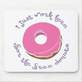 Free Donut Mousepad