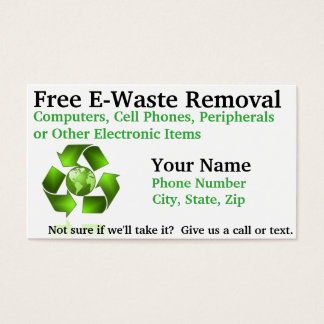 Free E-Waste Removal