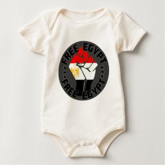 Free Egypt Baby Bodysuit