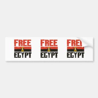 FREE EGYPT - CAR BUMPER STICKER
