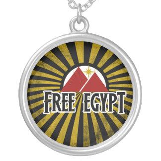 Free Egypt Round Pendant Necklace
