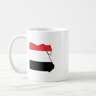 Free Egypt Now Basic White Mug