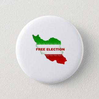Free Election 6 Cm Round Badge