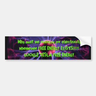 Free Energy Bumper Sticker
