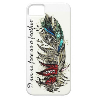 Free Feather iPhone 5 Case