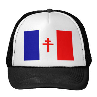 Free French Forces Flag Trucker Hat