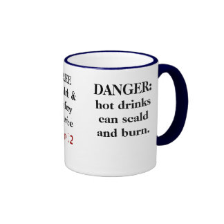 FREE Funny Health and Safety Advice - Tip 11 Ringer Mug