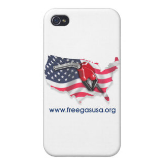 Free Gas USA, Inc. Store iPhone 4 Cases