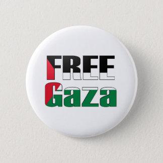 Free Gaza 6 Cm Round Badge