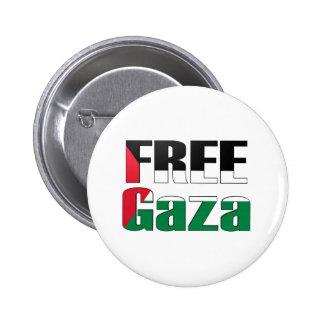 Free Gaza Pinback Buttons