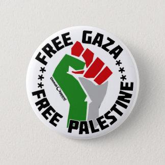 free gaza free palestine 6 cm round badge