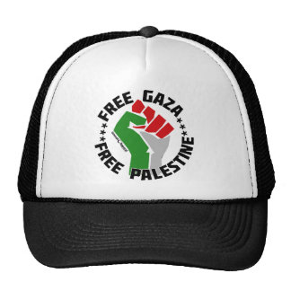 free gaza free palestine mesh hat