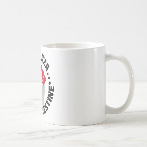 free gaza free palestine mug