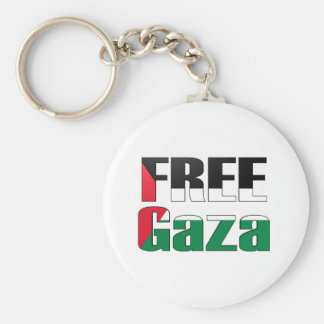 Free Gaza Key Ring
