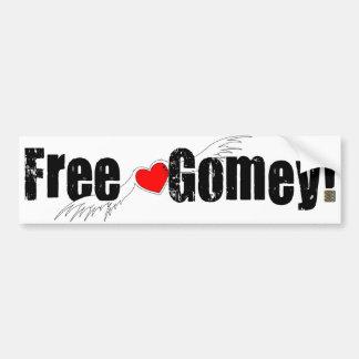 Free Gomey! Bumper Stickers