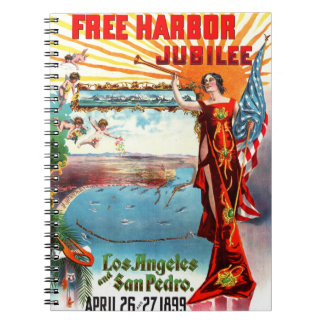 Free Harbor Jubilee 1899 Spiral Note Book