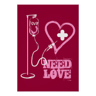 Free healed Heart ready for new love Pillows Poste Poster