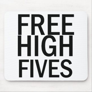 Free High Fives Mouse Mat