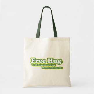 Free Hug Hugs Parody Tote Bag