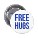 Free Hugs 6 Cm Round Badge