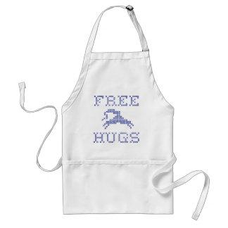 Free hugs alien standard apron