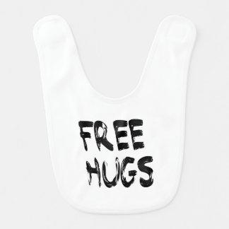 Free Hugs Baby Bib