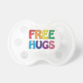 Free Hugs Baby Pacifier