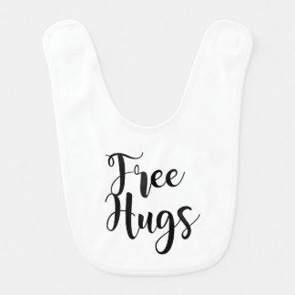 Free Hugs Baby Vest Bib