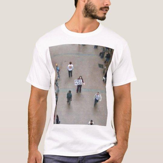 Free Hugs By Juan Mann T-Shirt