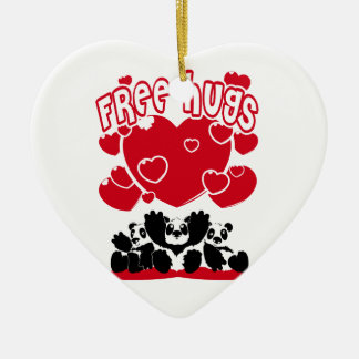 Free_Hugs Christmas Ornament