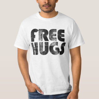 Free Hugs Cute Retro 80's T-Shirt