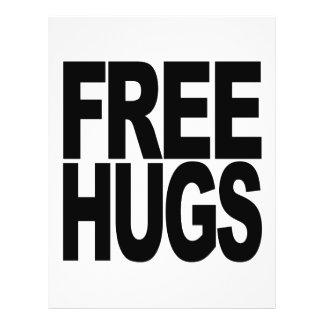 Free Hugs 21.5 Cm X 28 Cm Flyer