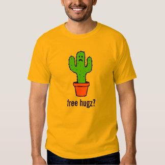 Free Hugs Funny Cactus Shirt