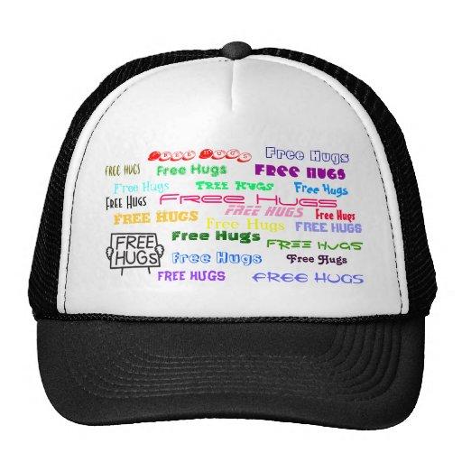 Free Hugs Trucker Hats