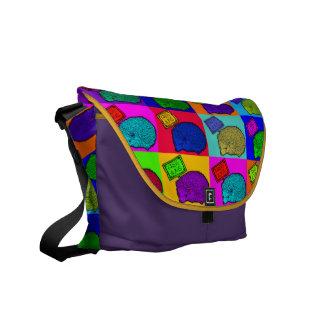 Free Hugs Hedgehog Colorful Pop Art Popart Commuter Bags