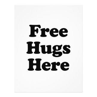 Free Hugs Here Custom Flyer