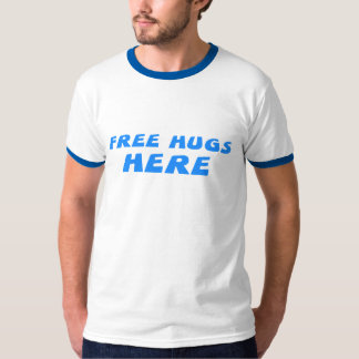 Free Hugs Here T-Shirt