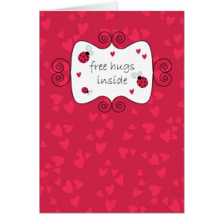 Free Hugs Inside Card