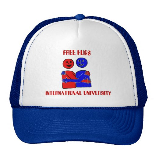 FREE HUGS INTERNATIONAL UNIVERSITY HAT