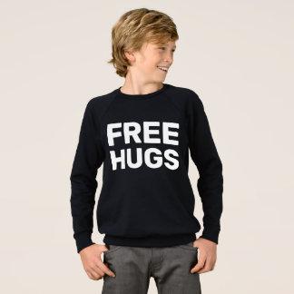Free Hugs Kids' American Apparel Raglan Sweatshirt