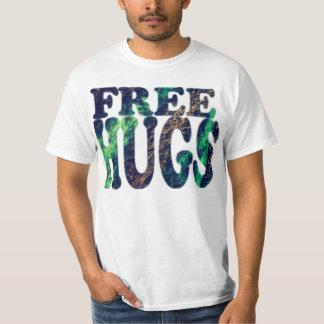 FREE HUGS Metallic T-Shirt
