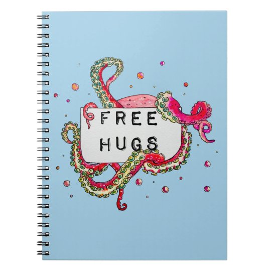free hugs notebooks