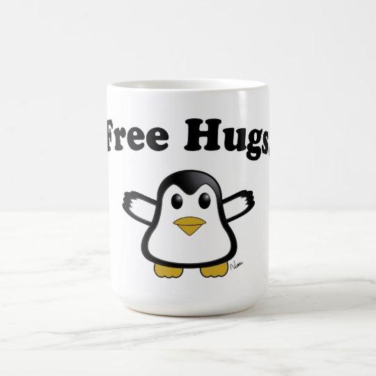 Free Hugs Penguin Coffee Mug