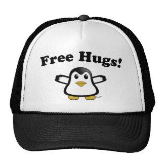Free hugs Penguin Trucker Hat