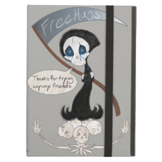 Free Hugs Reaper (With/Without Bubble) Case For iPad Air