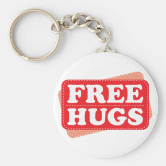 Free Hugs - Red Key Ring