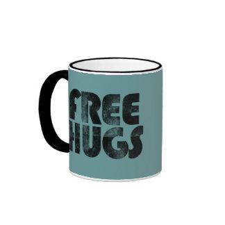 Free Hugs Ringer Mug