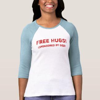 Free Hugs! (Sponsored by God) Tee Shirts