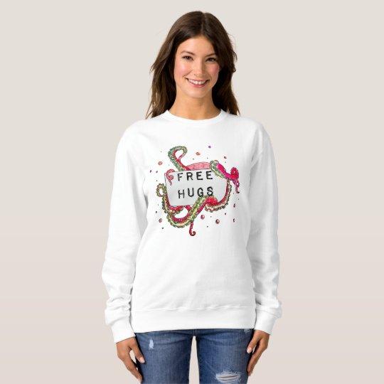 free hugs sweatshirt